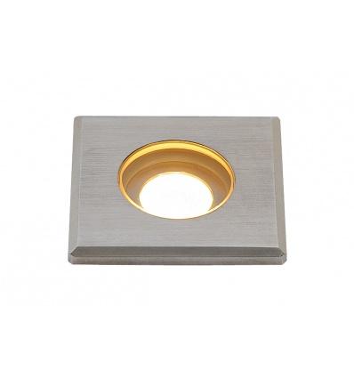 DASAR MINI 37 LED encastré de sol carré Inox 316, 2W 3000K 12-24V IP67