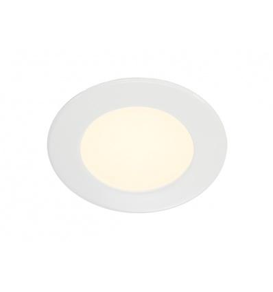 DL 126 LED, encastré rond, blanc, 2,8W LED 2700K, 12V
