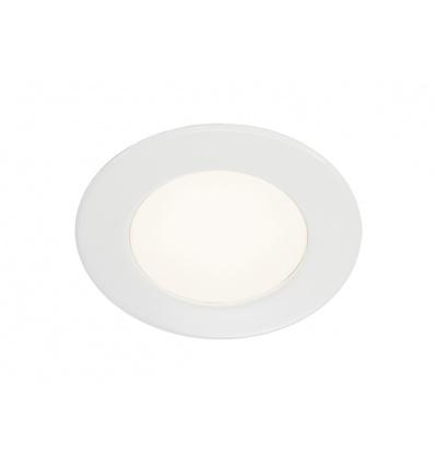 DL 126 LED, encastré rond, blanc, 2,8W LED 3000K, 12V
