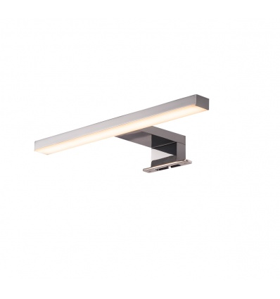 DORISA LED, luminaire de miroir, chrome, LED 5,2W 4000K, IP44