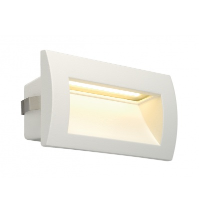 DOWNUNDER OUT LED M, encastré mural blanc, LED 0,96W 3000K