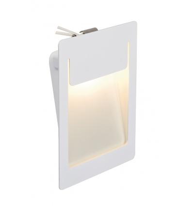 DOWNUNDER PUR 155 encastré, carré, blanc, 5,2W LED 3000K, 120x155mm
