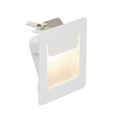 DOWNUNDER PUR 80 encastré, carré, blanc, 3,6W LED 3000K, 80x80mm