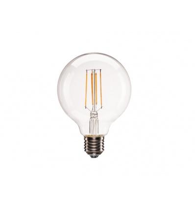 E27 LED G95, 330°, 2700K, 806lm, variable
