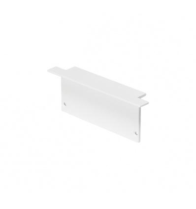 Embouts pour GLENOS profil aluminium à encastrer, blanc, 2 pièces