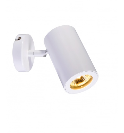 ENOLA_B spot 1, applique et plafonnier, blanc, GU10, max. 50W