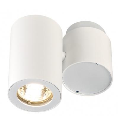 ENOLA_B spot simple, applique et plafonnier, blanc, GU10, max. 50W
