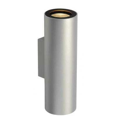 ENOLA_B UP DOWN applique, gris argent noire, 2x GU10, max. 50W