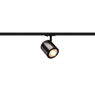 ENOLA_C LED, spot, noir, LED 11W 3000K, 35°, adaptateur rail 1 allumag