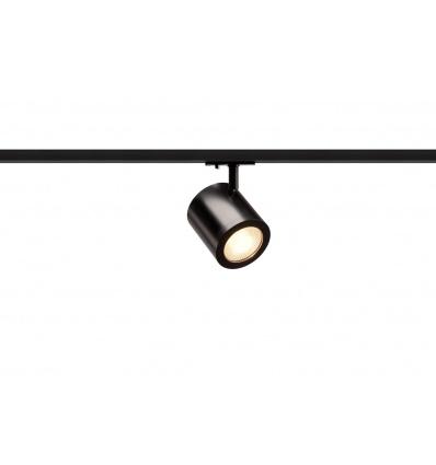 ENOLA_C LED, spot, noir, LED 11W 3000K, 55°, adaptateur rail 1 allumag