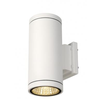 ENOLA_C OUT UP-DOWN applique, ronde, blanche, 9W LED, 3000K
