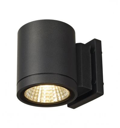 ENOLA_C, applique extérieure, ronde, anthracite, 9W LED, 3000K, 35°