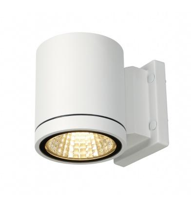 ENOLA_C, applique extérieure, ronde, blanche, 9W LED, 3000K, 35°