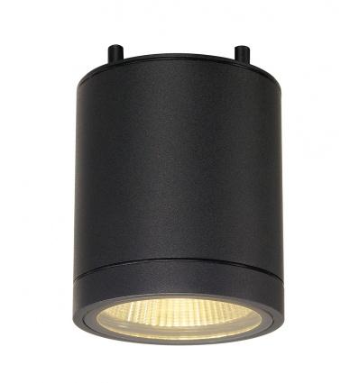 ENOLA_C, plafonnier, rond, anthracite, 9W LED, 3000K, 35°