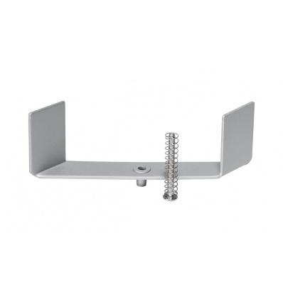Etriers pour GLENOS profil aluminium à encastrer, 2 pièces