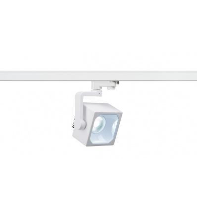 EURO CUBE spot, blanc, LED 4000K, 60°, IRC 90, adaptateur 3 all inclus
