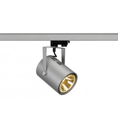 EUROSPOT LED, gris argent, COB LED 21W, 3000K, 36°, adapt 3 all inclus