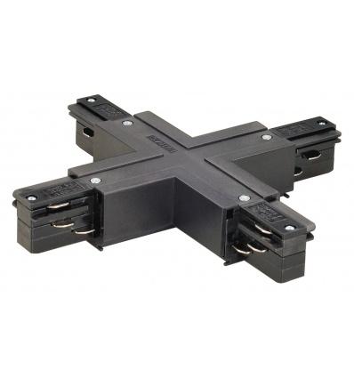 EUTRAC connecteur en X, noir