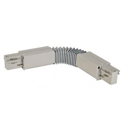 EUTRAC connecteur flex., gris argent