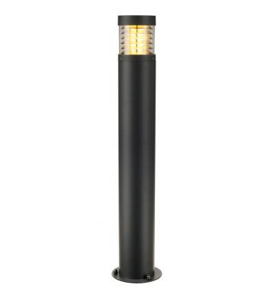 F-POL borne, ronde, anthracite, E27, max. 20W