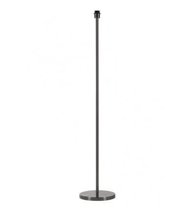 FENDA lampadaire simple, métal brossé, sans abat-jour, E27, 60W max.