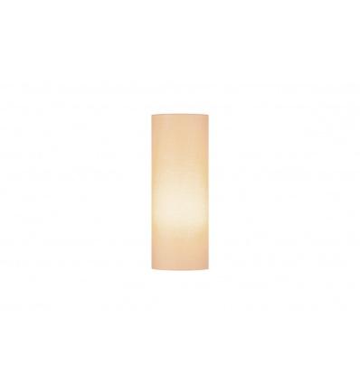 FENDA, abat-jour cylindrique, Ø 15cm, beige, textile