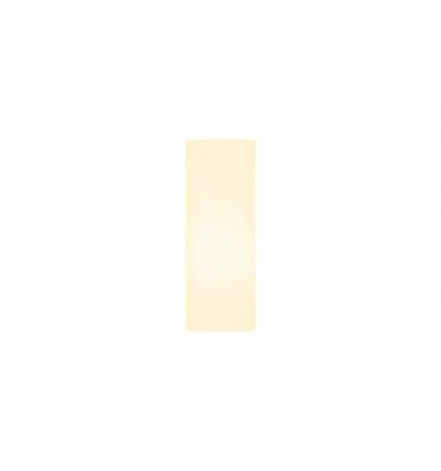 FENDA, abat-jour cylindrique, Ø 15cm, blanc, textile
