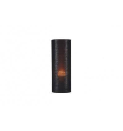 FENDA, abat-jour cylindrique, Ø 15cm, noir cuivre, textile