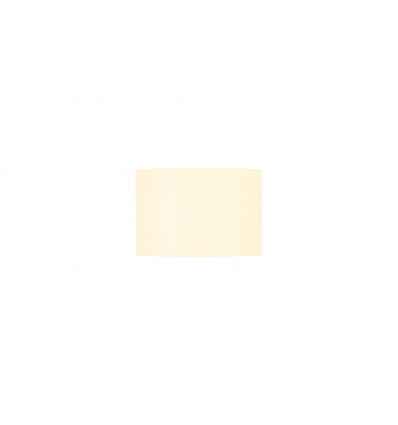 FENDA, abat-jour rond, Ø 30cm, blanc, textile
