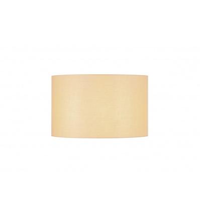 FENDA, abat-jour rond, Ø 45cm, beige, textile