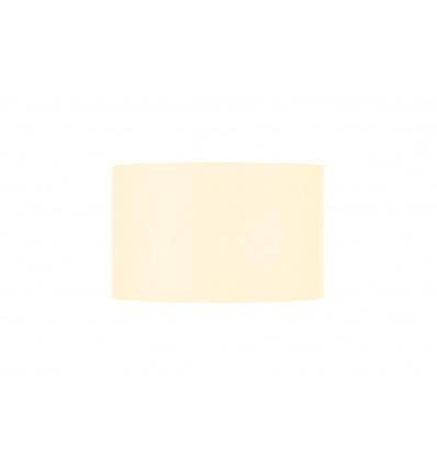 FENDA, abat-jour rond, Ø 45cm, blanc, textile