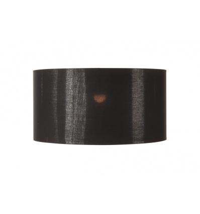 FENDA, abat-jour, textile noir cuivre, Ø70cm
