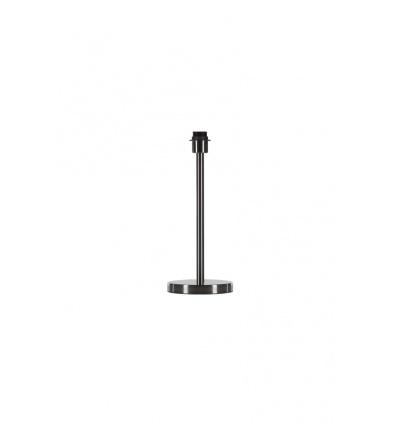 FENDA, pied de lampe simple, métal brossé, E27 max. 40W