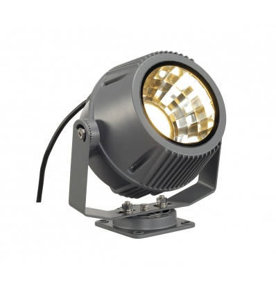 FLAC BEAM LED spot, gris foncé, avec module Philips DLMi 2000lm, 3000K