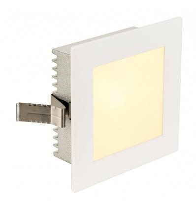 FLAT FRAME BASIC encastré, carré, blanc, G4, max. 20W