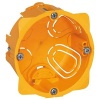 Boîte monoposte Batibox pour cloisons sèches 1 poste ou 2 modules profondeur 40